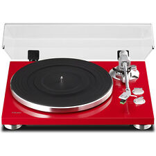 Teac TN-300 2-Speed Analog Turntable - Red