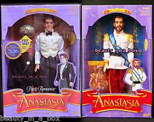 Paris Romance Dimitri Doll Czar Nicholas from Anastasia Movie Lot 2 Dented Box