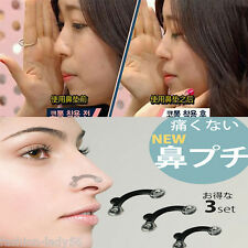 1Set 3Size No Pain Clipper Shaper Stealth Beauty Tool Nose Lifting Shaping Clip