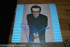 Elvis Costello autographed Vintage 1977 Stiff UK Label Watching the Detectives