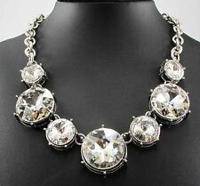 huge gorgeous top brand Huge exaggeration  ablaze silver Necklace collar 405