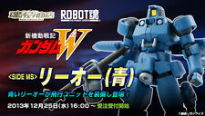 Robot Spirits Damashii Limited Wing Gundam Series Leo Blue with option set 3 lot