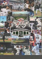 2016 WHITE SOX YEARBOOK THOME NAVARRO SALE 25TH ANNIVERSARY MLB OFFICIAL PROGRAM
