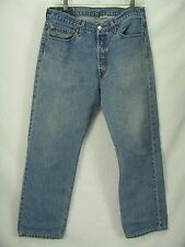 Levis 501 Classic Straight  Leg Perfect Fade Blue Jeans 34x 30 Mexico  CM24
