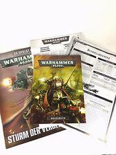 Regelwerk Warhammer 40000 Sturm der Vergeltung inkl. Refferenz Taschenbuchformat