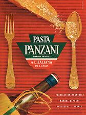 PUBLICITE ADVERTISING 025  1961  PATES PANZANI 2