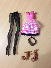 Ever After High C.A. Cupid Doll's Outfit Clothes Dress Shoes