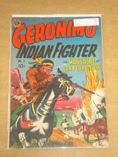 GERONIMO INDIAN FIGHTER #1 FN- (5.5) AVON COMICS 1950