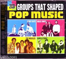 Groups That Shaped Pop Music 2CD Classic 70s 80s RARE EARTH STARSHIP WHITE LION