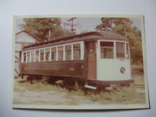 USA794 - 1960 BRANFORD ELECTRIC RAILWAY - TROLLEY CAR No1339 PHOTO Connecticut