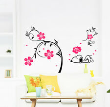 Snoopy - Sweet Dreams - TOP Quality CLEAR VINYL Kids Girls Wall Sticker