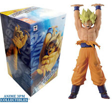 "Banpresto - Dragon Ball Z Super Saiyan Son Goku Genki Dama 10"" Figure AUTHENTIC!"