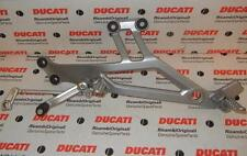 2001 Ducati Monster 600-900 L/H footpeg assembly 82410231A, shift linkage, lever