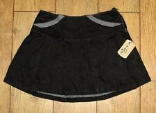 Bnwt Women's Oakley Crush Pleated Mini Skirt New Black UK12