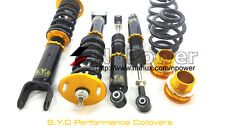 SYC ADJUSTABLE DAMPER COILOVERS F&R SET FOR FORD FALCON BA BF XR6 XR8 SEDAN
