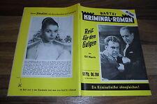 Falegnameria KRIMINAL-Roman # 260 -- con Maximilian Schell-foto di copertina del 1.6.1956