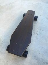 Coffin Croozer - Mini Cruiser Skateboard made from solid wood