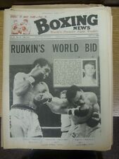 12/07/1968 Boxing News Magazine: Vol: 24 No: 28 - Content To Include: Article On