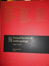 Annual Review of Anthropolgy Vol. 42 2013 new hardcover