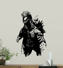 Godzilla Wall Decal Monster Movies Nursery Vinyl Sticker Art Decor Mural 86zzz
