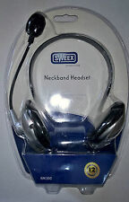 Sweex HM300  Neckband Over-The-Ear PC Headset Black