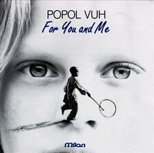 POPOL VUH - For You and Me (CD, Jan-1991, Milan Records)