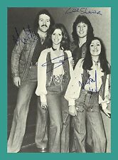 BROTHERHOOD OF MAN | Popgruppe | Original-Autogramm auf Autogrammkarte