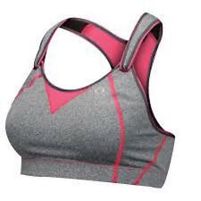 Rebound Racer Bra by Moving Comfort sports GREY & PINK 30B 30 B NEW HIGH IMPACT