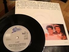 GEORGE MICHAEL & ARETHA FRANKLIN . I KNEW YOU WERE WAITING ( FOR ME ) 1986