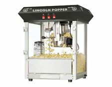 Industrial Popcorn Machine Movie Theater Bar Style 8 oz Lincoln 8 oz For Sale