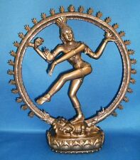 SALE! Hindu God Shiva as Nataraja Dancing in Flames Statue Figure #8198