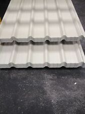 Box Profile, Alkyde Grey, 800mm cover (UK Made) Roofing Supplies