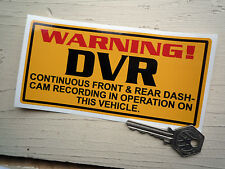 DVR Dash-Cam Recording WARNING Sticker Truck Van Car Lorry Camera Video SECURITY
