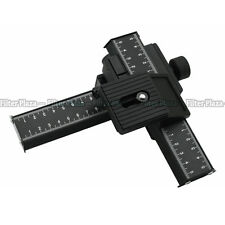 PRO 4-Way Macro Focusing Rail Slider For Caon Nikon Sony D-SLR Close-up Shooting
