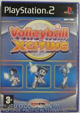COMPLET Jeu VOLLEYBALL XCITING playstation 2 sony PS2 francais sport beachvolley