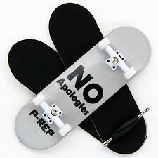 P-REP - 30mm Graphic Complete Wooden Fingerboard - No Apologies