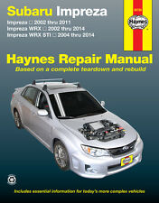 NEW HAYNES WORKSHOP SERVICE REPAIR MANUAL Subaru Impreza WRX STi 2002-2104
