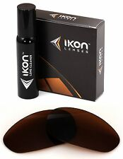 Polarized IKON Replacement Lenses For Oakley Unknown Sunglasses Bronze/Brown