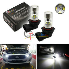 2PCS White X-Bright 9005 HB3 SAMSUNG LED Daytime Running Lights/High Beam Bulbs