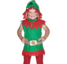 Christmas Fancy Dress Childrens Toddler Elf Costume #26019 New by Smiffys