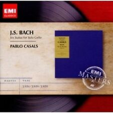 PABLO CASALS - CELLOSUITEN JOHANN SEBASTIAN BACH 2 CD NEUWARE CELLO
