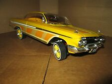 1:18 chevy impala lowrider model 1961 loc riderz malibu international yellow