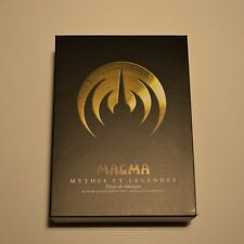 MAGMA - Mythes et légendes -JAPAN 4 DVD + CD PROMO + BOX PROMO Disk union