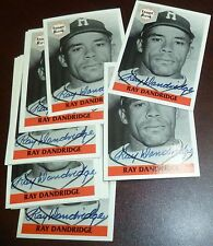 Ray Dandridge Signed 1992 Front Row Baseball Card Autograph Auto'd Hall of Fame