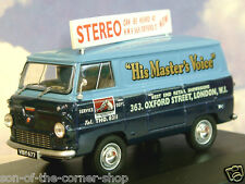 OXFORD DIECAST 1/43 FORD THAMES 400E VAN HMV HIS MASTER'S VOICE LONDON FDE013