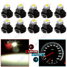 10X White T3 Neo Wedge SMD LED Panel A/C Climate Control HVAC Lights Switch Lamp