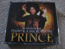 Prince - Piano & A Microphone Tour - Live 3 CD Set Atlanta 7&10 pm  2016