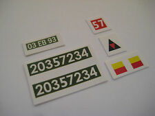 DINKY 622 BREN GUN CARRIER  STICKER DECALS 2nd Issue Military Vehicles