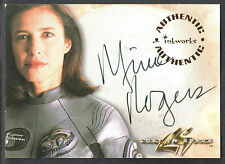 LOST IN SPACE THE MOVIE (Inkworks/1998) AUTOGRAPH CARD #A1 MIMI ROGERS