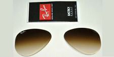 LENTI RICAMBIO RAY BAN 3025 58 AVIATOR BROWN GRADIENT REPLACEMENT LENSES MARRONE